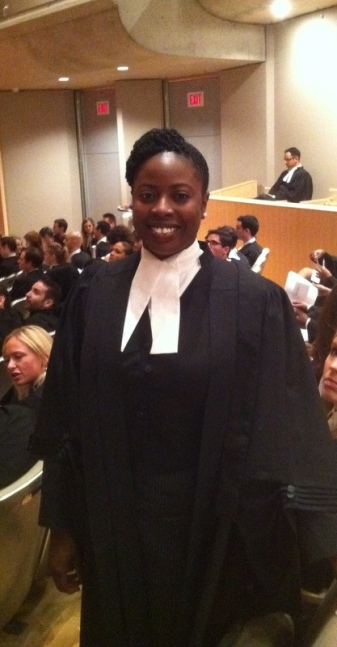 At my Call to the Bar (Swearing-In) ceremony