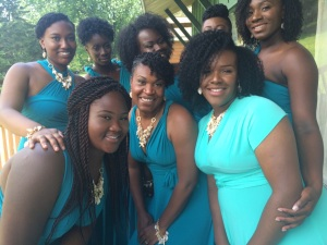 Natural bridesmaids - Gen's Wedding