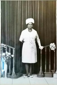 My grandmother on her wedding day