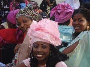 Senegalese headtie