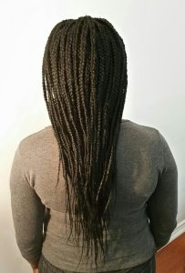 Extension braids (back)